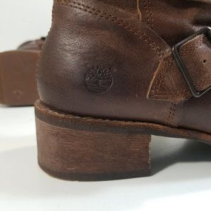 Timberland Shoes - Timberland Women Zip Up Mid Calf Boots Size 10